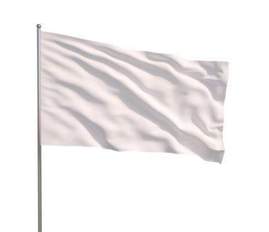 Waving white flag