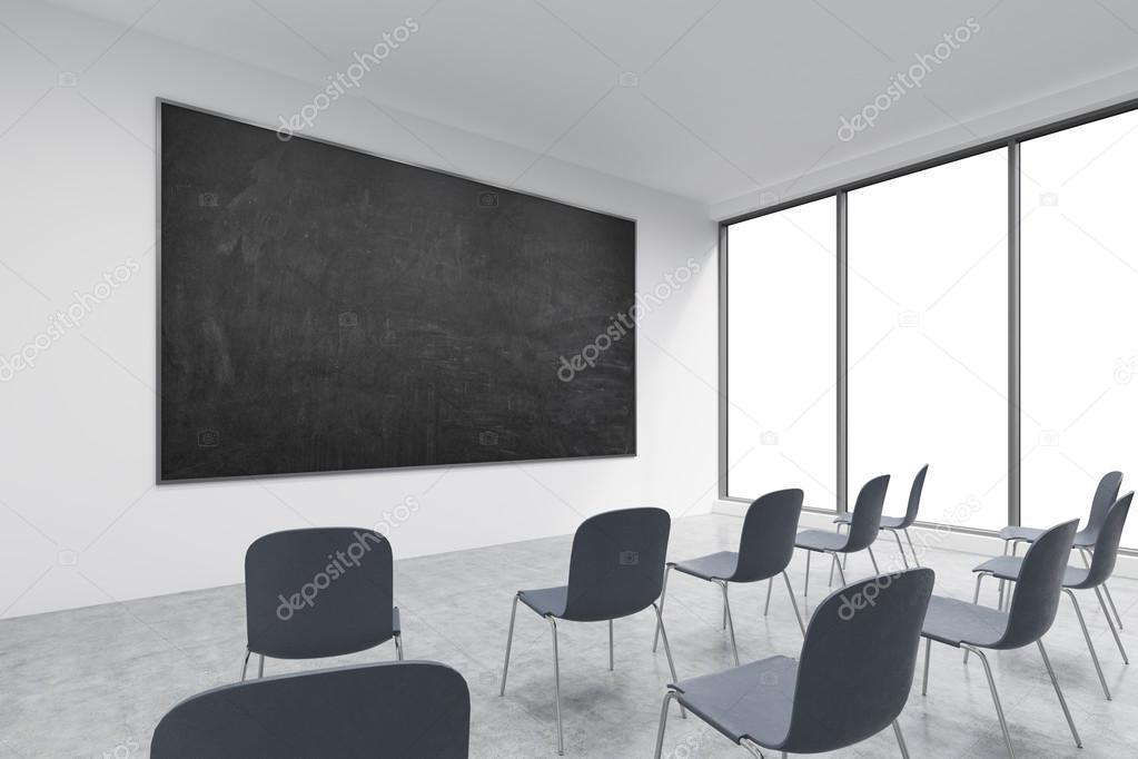 Une salle de classe ou d une présentation dans une université