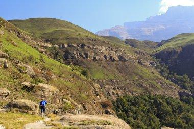 Drakensberg Dragon mountains landscape in South Africa