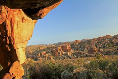 Stadsaal caves in Cederberg nature reserve, South Africa