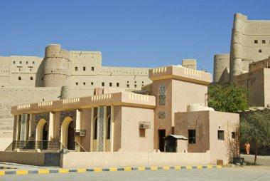 Nizwa Bahla Fort in Ad Dakhiliya, Oman. It was built in the 13th