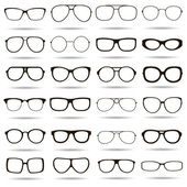 24 vysoce detailní brýle ikony