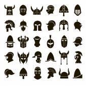 30 icons knights helmet