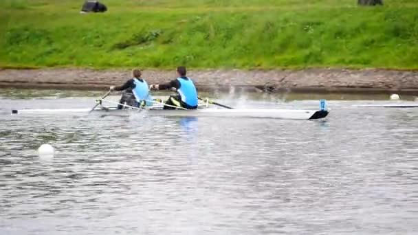 Boote Kajakwettbewerbe.