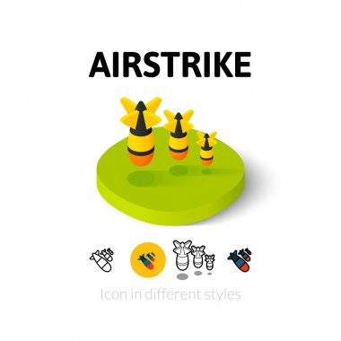 Airstrike icon in different style
