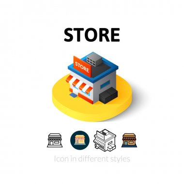 Store icon in different style