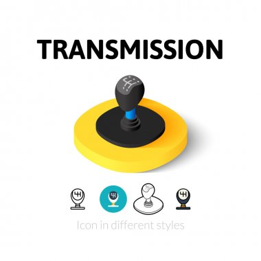 Transmission icon in different style