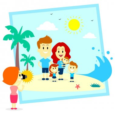 Family Fun Photo Shoot At The  Beach