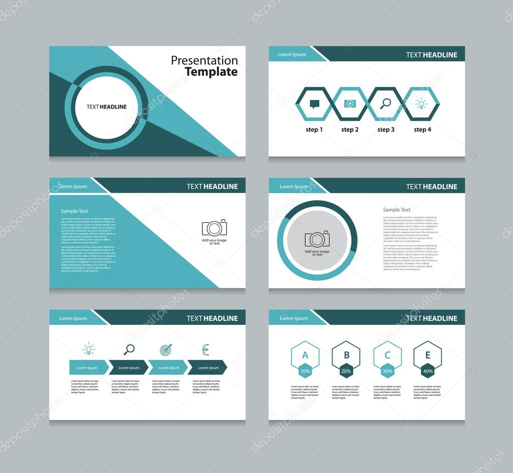 business template presentation slides background design and info