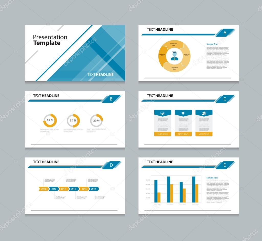 presentation slides background design template info graphic charts