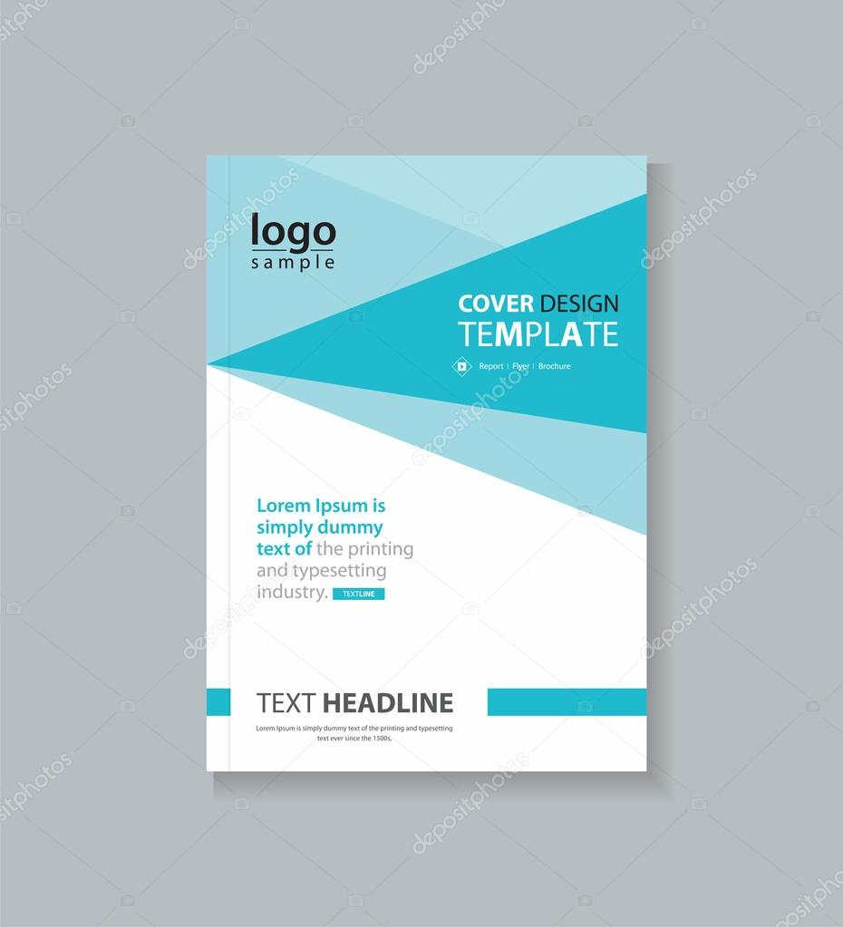 Business Deposit Book Cover : Business cover design template and brochure annual