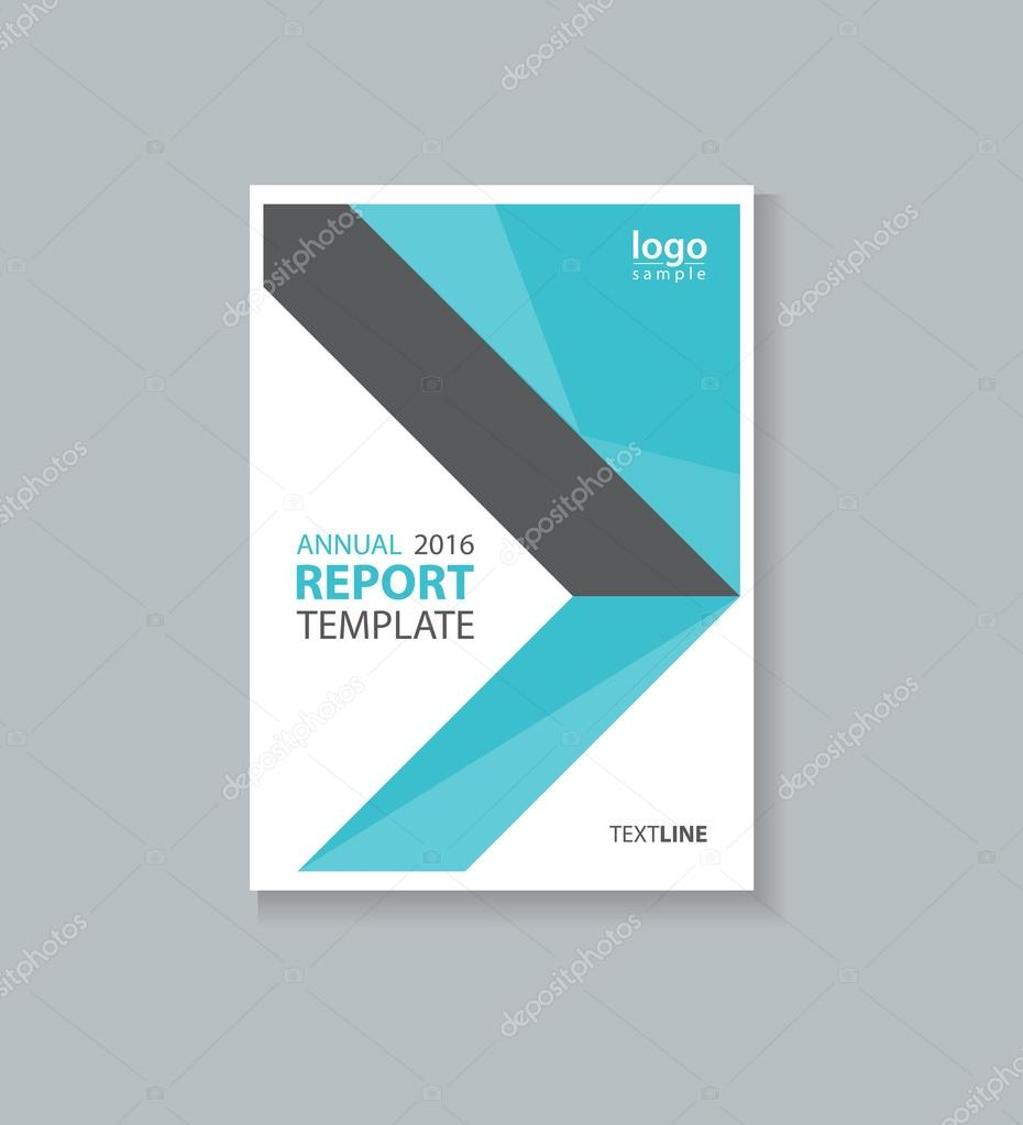 Company Report Template | Business Cover Design Template And Brochure Annual Report Flyer
