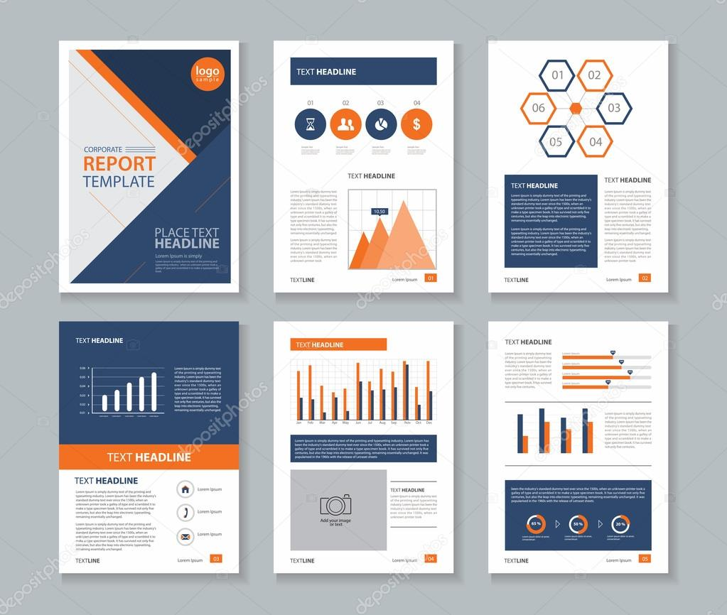 Company profile annual report brochure flyer page layout page company profile annual report layout templateand business info chart element template concept vector by tcdesign cheaphphosting Image collections