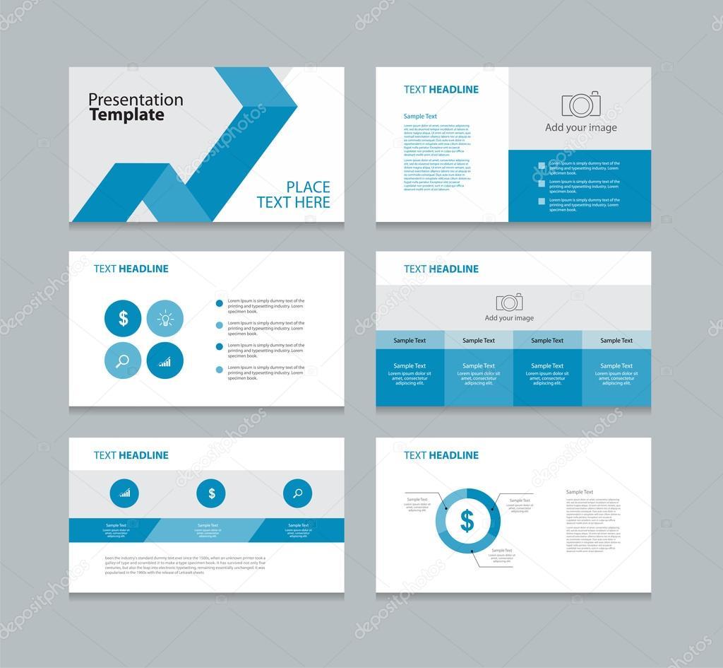 Seite-Präsentation-Layout-Design-Vorlage — Stockvektor © TCdesign ...