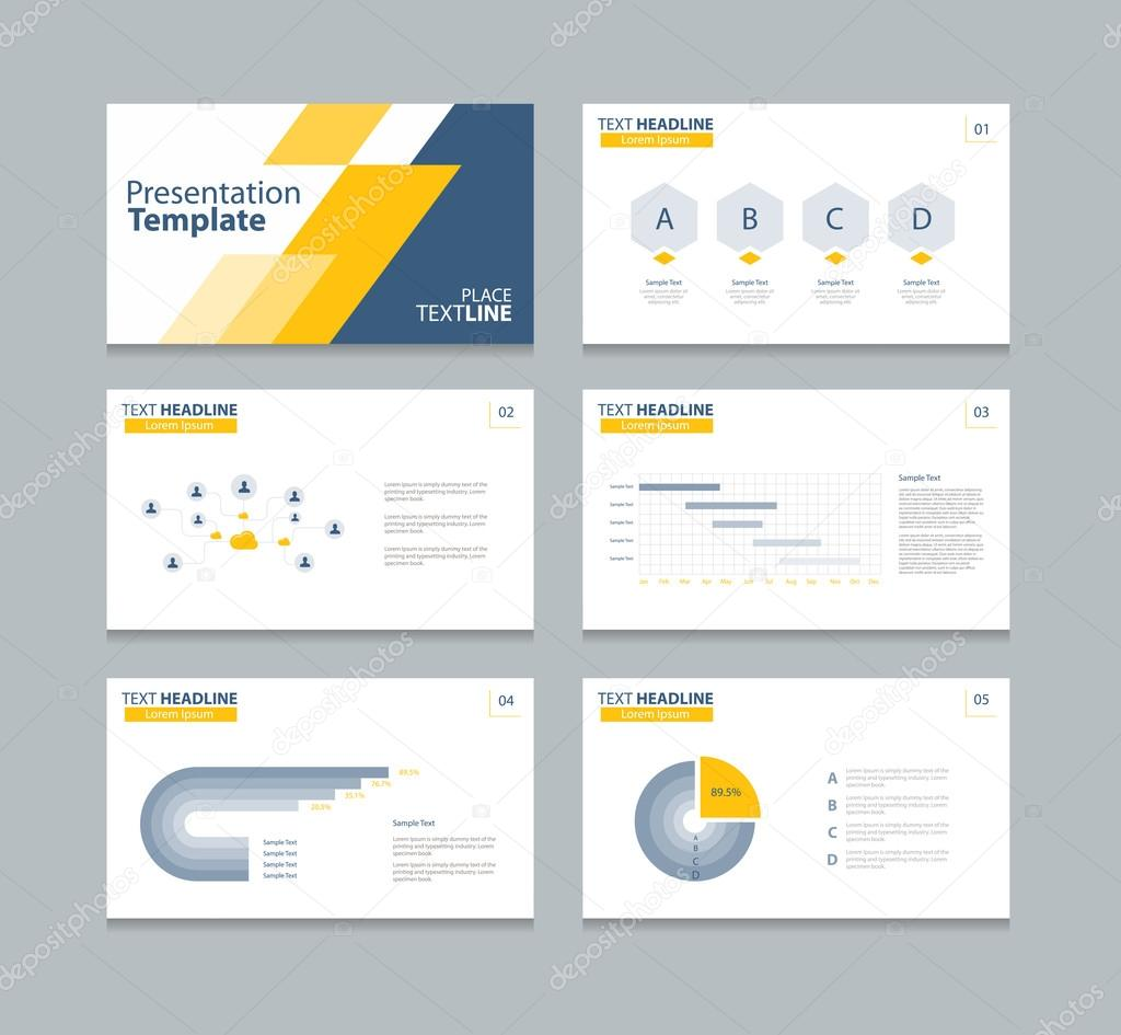 Plan - Business Plan & Infographic PowerPoint Template