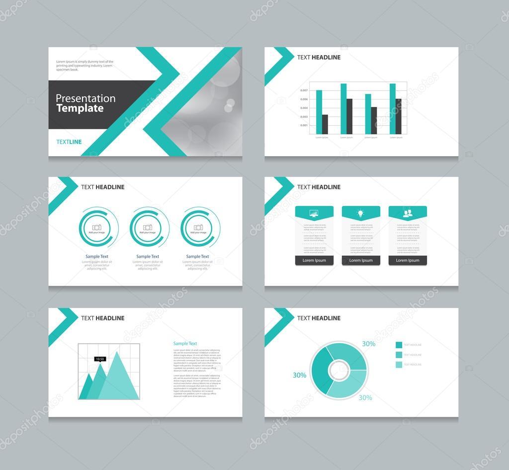 plantilla de diseño de diseño de presentación de página — Archivo ...