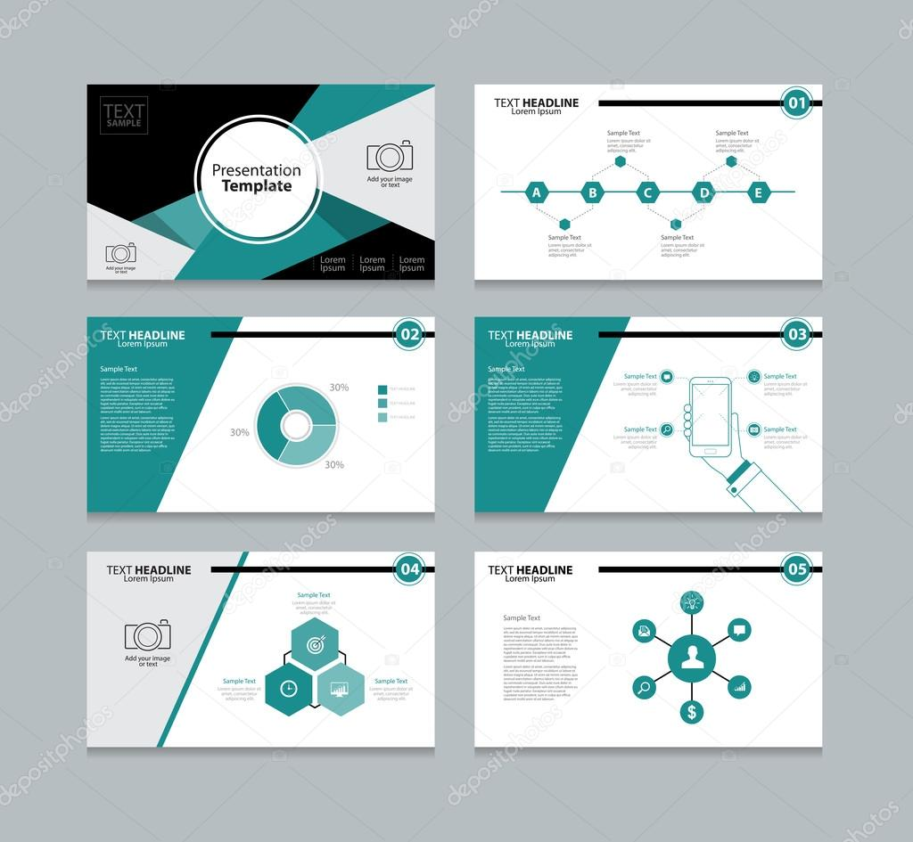 Business Presentation | Abstract Vector Business Presentation Template Slides Background