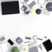 Sada objektů odrůda prázdné kanceláře