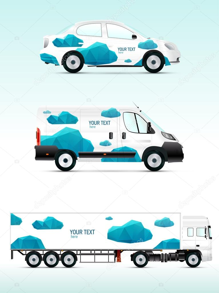 template vehicle for advertising  branding or business  u2014 stock vector  u00a9 vvvisual  53521671