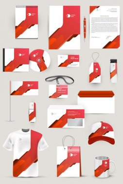 Elements for corporate identity