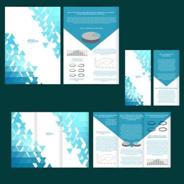 Poster, brochure design template