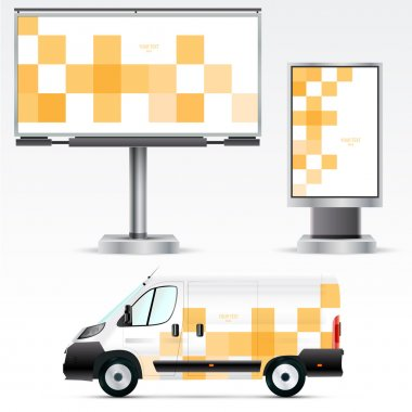Advertising companies, shipping, delivery  billboards