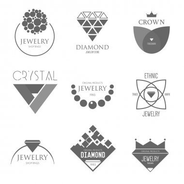 Logo inspiration with jewels
