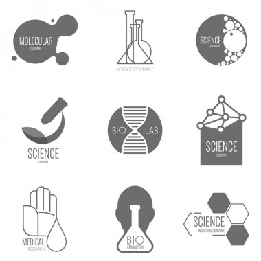 Logo design for science