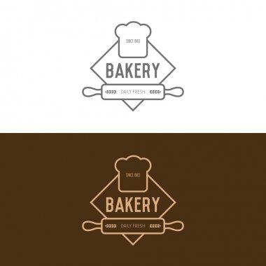Two bakery logos