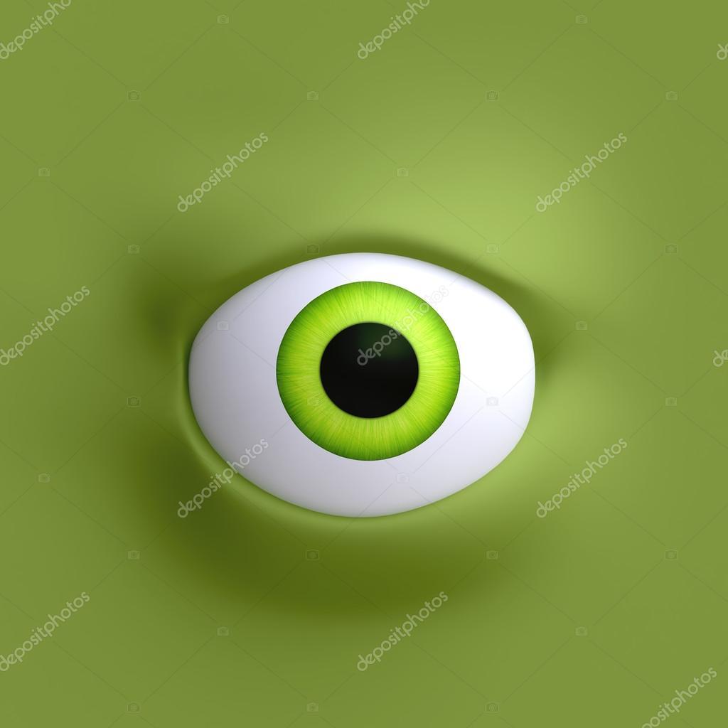 olho grande dos desenhos animados fotografias de stock vvvisual