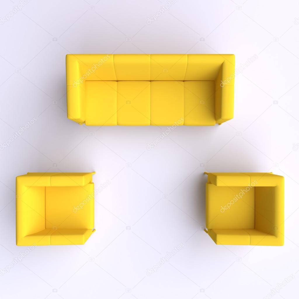 canap et deux fauteuils photographie vvvisual 84642534. Black Bedroom Furniture Sets. Home Design Ideas