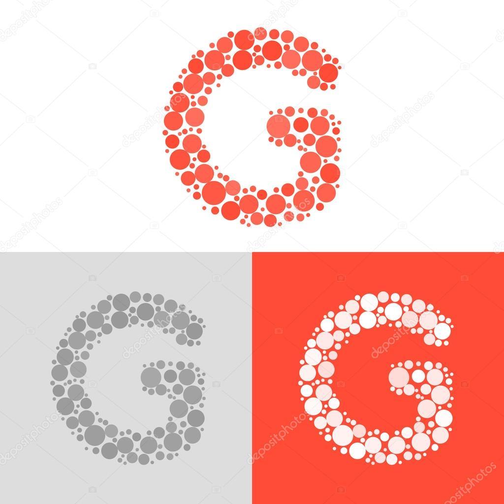 Letter G Logo Design Inspiration Letter G Logo Icon Design