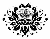 Lótuszvirág, fekete