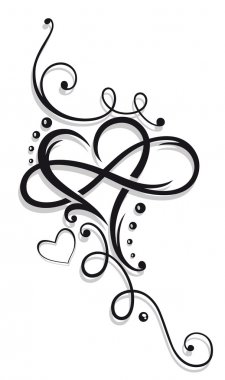 Heart and infinity