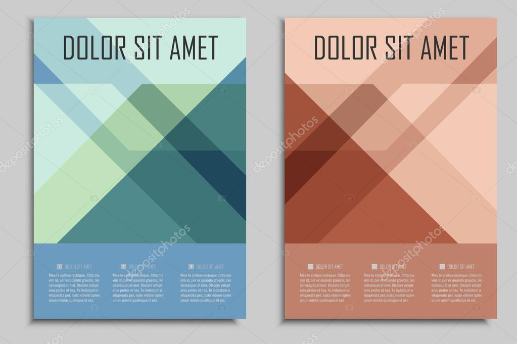 Vector Brochures Template For Presentations Covers Books And - Brochures template