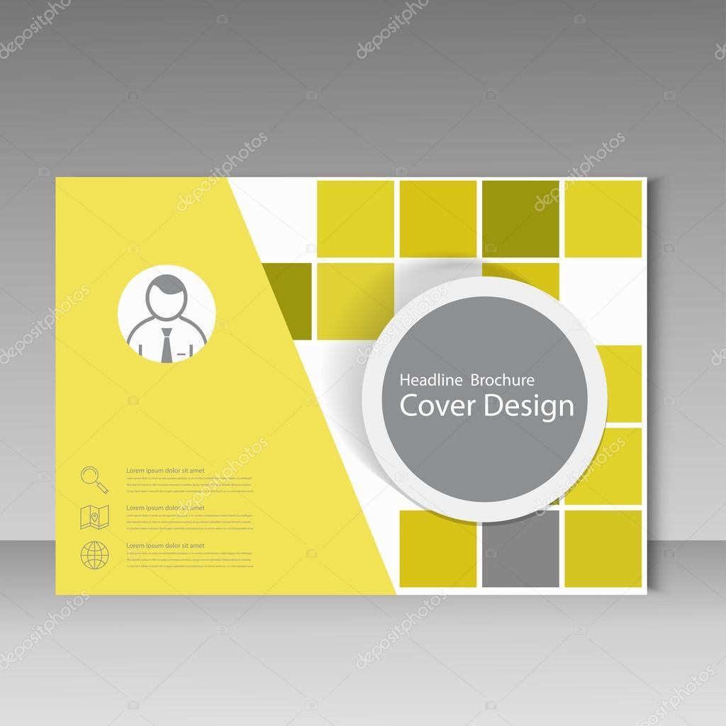 Buch-Cover-Layout-Design, abstrakte Flyer Vorlagen mit Platz ...