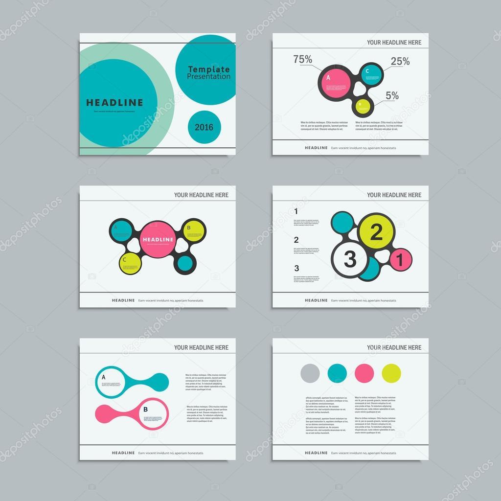 Legen Sie Vorlagen Infografiken für Präsentationen, Geschäft, Layout ...