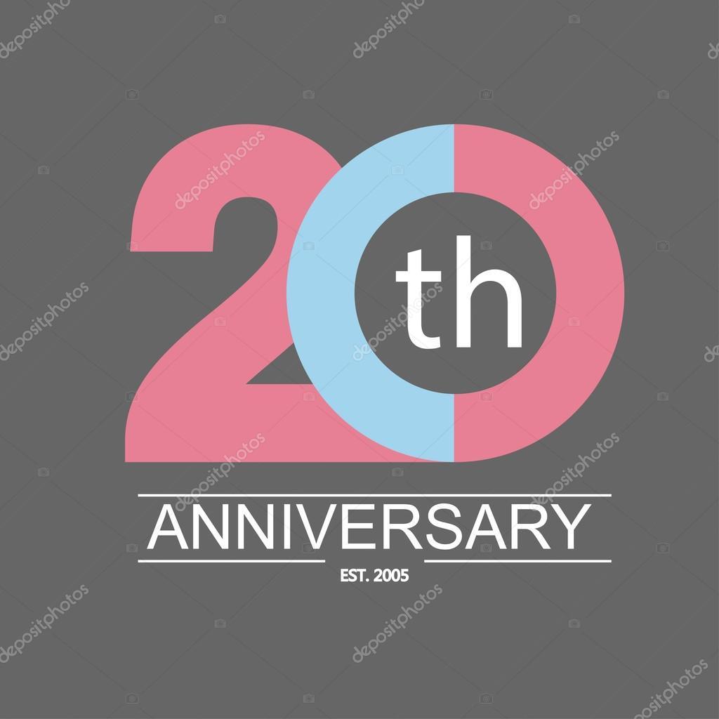 Anniversary icon stock vector � gaisonok