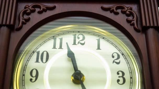 Óra-félkört Time-lapse