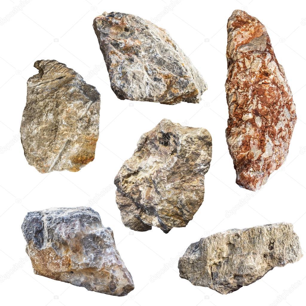 Piedra de la roca de granito grande aislado fotos de for Piedra de granito precio