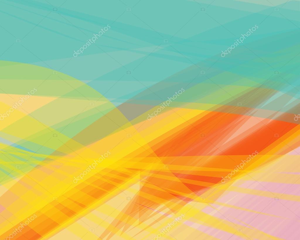 Linhas de onda banner, transparente de fundo vector