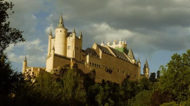 Romantická středověká Španělská pevnost