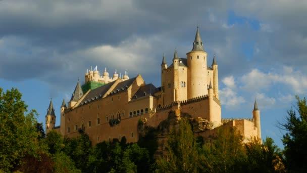 Romantic medieval spanish fortress