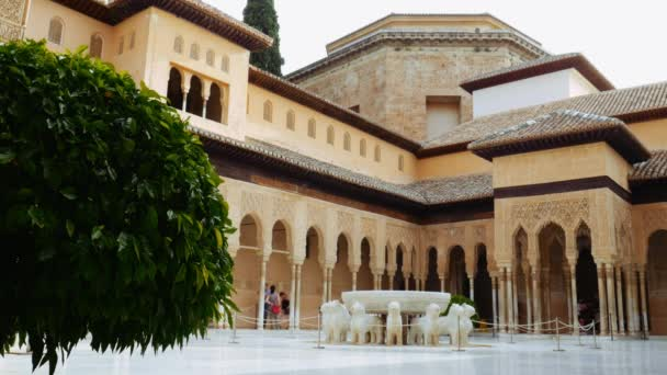 Medieval Alhambra Palace