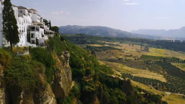 View of cliffs in Ronda