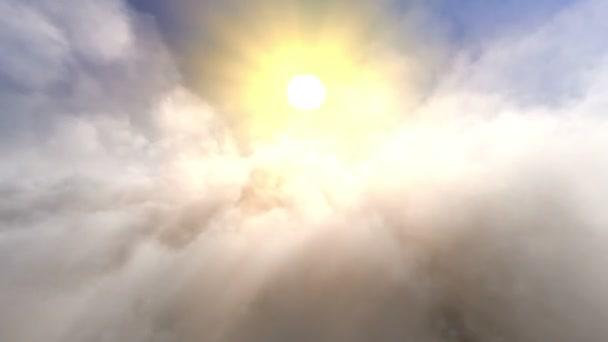 mraky a slunce
