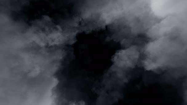 Stormy Clouds Loop, rotating camera