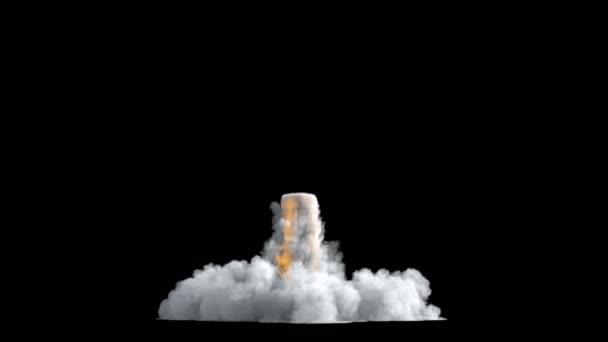 Rocket start smoke