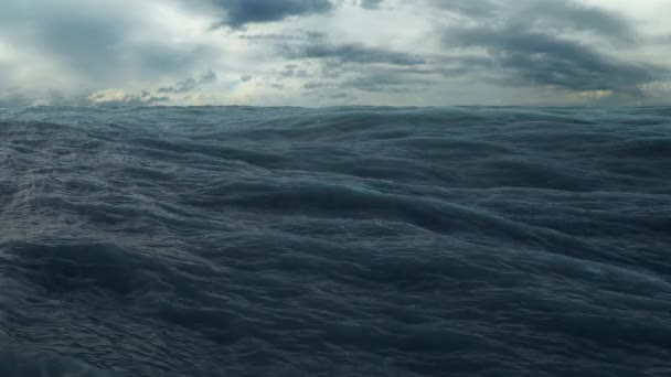 Přelet nad vlny oceánu