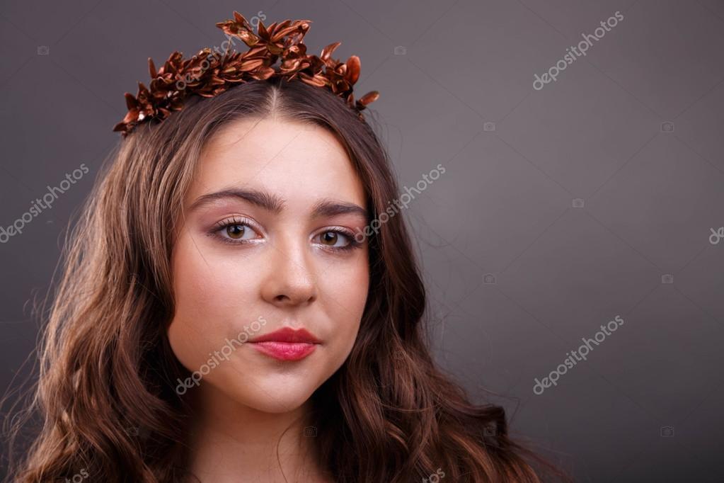 Ritratto di una bella ragazza nell 39 immagine della dea - Colorazione immagine di una ragazza ...
